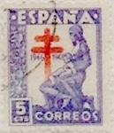 Sellos de Europa - España -  5 céntimos 1946