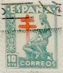 Sellos de Europa - España -  10 céntimos 1946