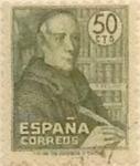 Sellos de Europa - España -  50 céntimos 1947