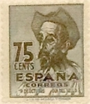 Sellos de Europa - España -  75 céntimos 1947