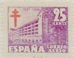 Sellos de Europa - España -  25 céntimos 1947