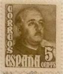 Sellos de Europa - España -  5 céntimos 1948