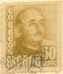 Sellos de Europa - España -  50 céntimos 1948
