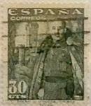 Sellos de Europa - España -  30 céntimos 1954