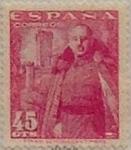Sellos de Europa - España -  45 céntimos 1948