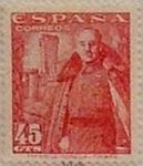Sellos de Europa - España -  45 céntimos 1950