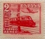 Stamps Spain -  2 pesetas 1948
