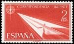 Stamps Spain -  ESPAÑA SEGUNDO CENTENARIO NUEV Nº 1185 ** 2P ROJO ALEGORIAS