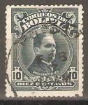 Stamps Bolivia -  PRESIDENTE  HERNANDO  SILES