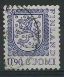 Sellos del Mundo : Europa : Finlandia : S563 - Escudo de armas