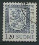 Sellos del Mundo : Europa : Finlandia : S565 - Escudo de armas