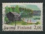 Sellos del Mundo : Europa : Finlandia : S567 - Sauna