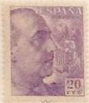 Sellos de Europa - España -  20 céntimos 1949