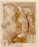 Sellos de Europa - España -  25 céntimos 1949