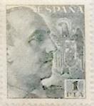 Stamps Spain -  1 peseta 1949