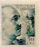 Stamps Spain -  50 céntimos 1949