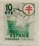 Sellos de Europa - España -  10 céntimos 1949