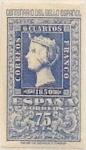 Sellos de Europa - España -  75 céntimos 1950