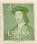 Sellos de Europa - España -  50 céntimos 1952