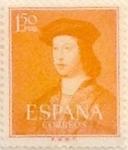 Sellos de Europa - España -  1,50 pesetas 1952