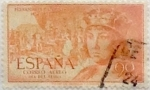 Stamps Spain -  90 céntimos 1952