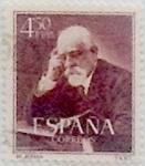 Sellos de Europa - España -  4,50 pesetas 1952