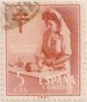 Sellos de Europa - España -  5 céntimos 1953