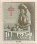 Sellos de Europa - España -  10 céntimos 1953