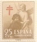 Sellos de Europa - España -  25 céntimos 1953