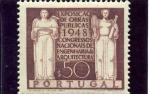 Sellos de Europa - Portugal -  Congreso Nacional de Ingenieros y Arquitectos en Lisboa