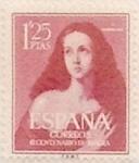 Sellos de Europa - España -  1,25 pesetas 1954