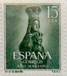 Sellos de Europa - España -  15 céntimos 1954