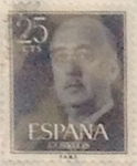 Stamps Spain -  25 céntimos 1955