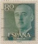 Sellos de Europa - España -  80 céntimos 1955