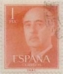 Sellos de Europa - España -  1 peseta 1955