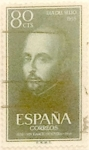 Stamps Spain -  80 céntimos 1955