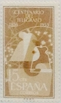 Stamps Spain -  15 céntimos 1955
