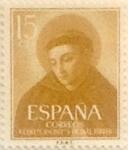 Sellos de Europa - España -  15 céntimos 1955