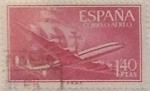Sellos de Europa - España -  1,40 pesetas 1955