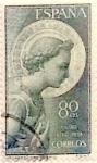 Sellos de Europa - España -  80 céntimos 1956