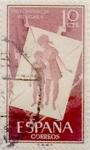 Sellos de Europa - España -  10 céntimos 1956