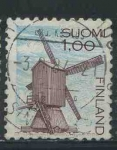 Sellos del Mundo : Europa : Finlandia : S630 - Molino de viento