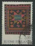 Sellos del Mundo : Europa : Finlandia : S638 - Alfombra nupcial, Teisko 1815