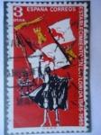 Stamps Spain -  Establecimiento en la Florida 1565-1965
