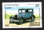 Stamps Cambodia -  Ford model T 1927