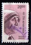 Sellos de Asia - India -  Madre Teresa