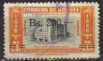 Stamps Bolivia -  BOLIVIA 1957 Michel 569 SELLO 400 ANIVERSARIO DE LA PAZ