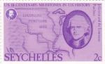 Stamps Africa - Seychelles -  II Centenario milestones in Us History