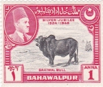 Stamps Pakistan -  BAHAWALPUR- Silver Jubilee 1924-1949