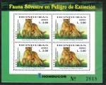 Stamps Honduras -  Fauna Silvestre en Peligro de Extinción